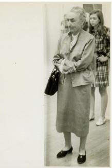 Georgia O'Keeffe & Mary Wells Ridley - 1967