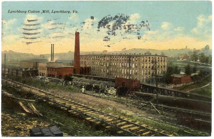 cotton mill - credit lynchburg museum system