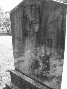 William Harrison Brooks Tombstone