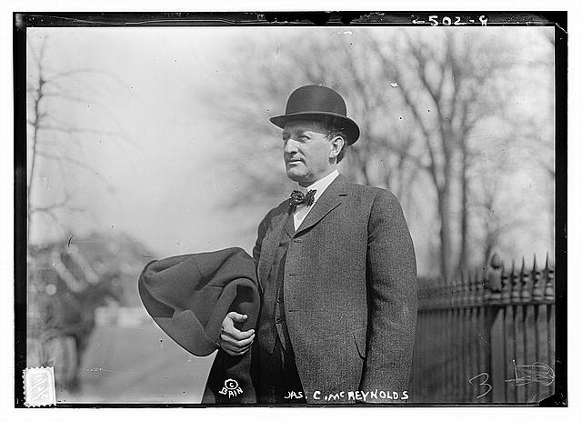 James McReynolds circa 1913 LOC - Bain News Service