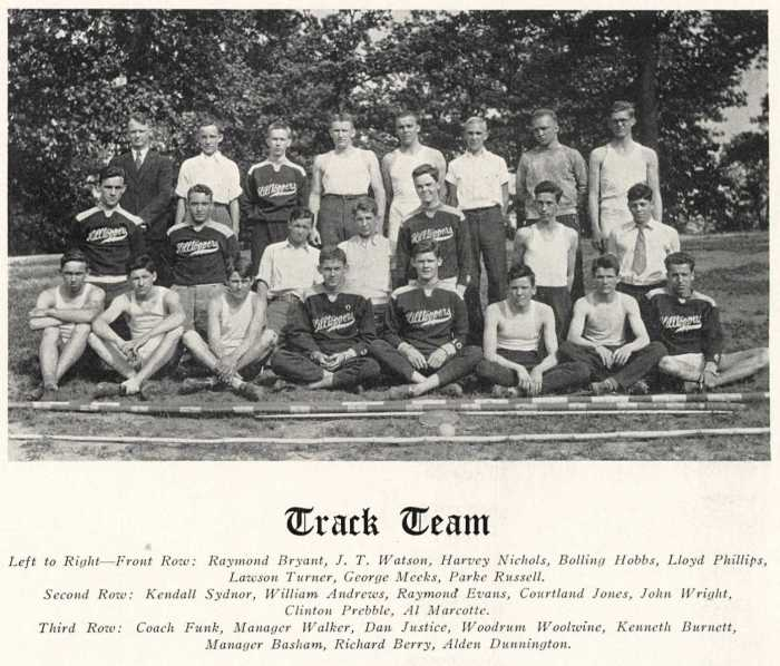 1934 track photo