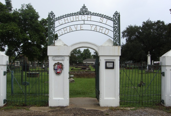 church st graveyard entrance