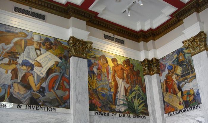 john augustus walker mural