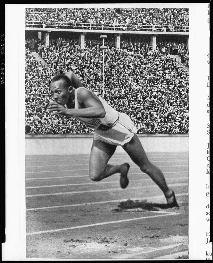 Jesse Owens - LOC