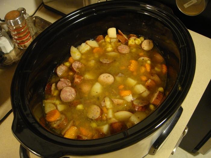 sausage stew pic